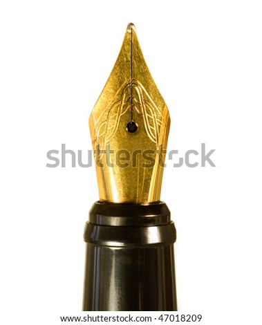 fountain-pen - stock photo
