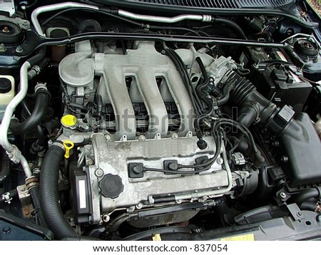 Four cylinder auto engine