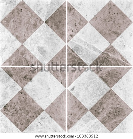 Four different marble texture. (high.res.) - stock photo