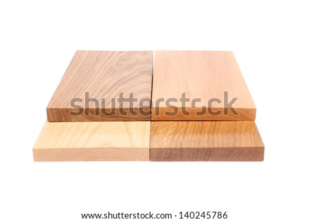 Four emds boards (acacia, oak, elm, lime)