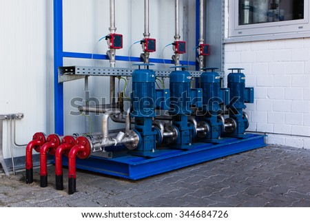four filling pumps