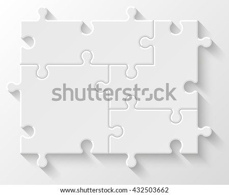 Four puzzle illustration, puzzle icon, puzzle picture, puzzle piece, puzzle circle, puzzle infographic, puzzle business, puzzle step, puzzle logo, puzzle process, puzzle diagram, puzzle infograph icon - stock photo