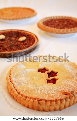 Four Seasonal Pies - Cherry First