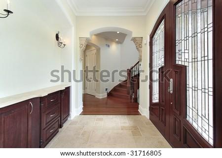 Foyer with windowed door & Foyer Windowed Door Stock Photo 31716805 - Shutterstock