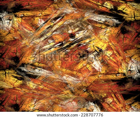 Fractal and abstract background - stock photo