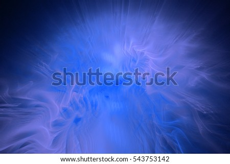 Fractal art background for creative design. Abstract fractal. Decoration for wallpaper desktop, poster, cover booklet, card. Psychedelic. Print for clothes, t-shirt. Magic graphics.