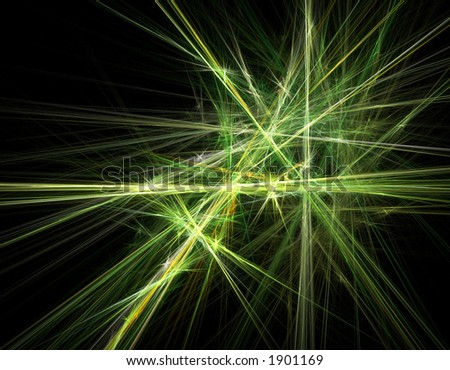Fractal artwork - stock photo