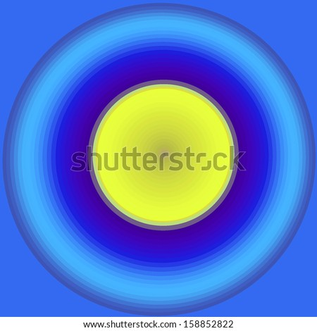Fractal background. Circle, mandala, planets