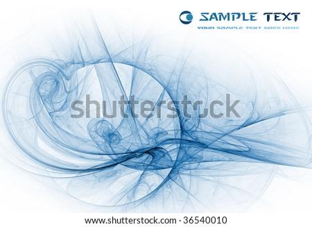 Fractal Design - stock photo