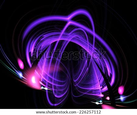fractal fantasy - stock photo