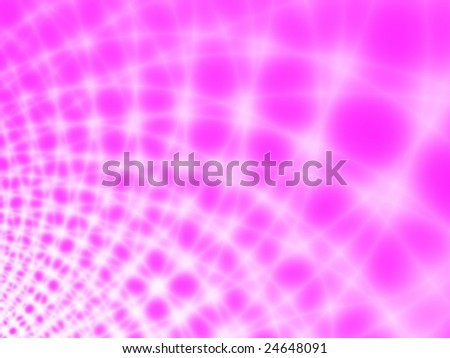 Fractal image depicting an abstract spider web representing the World Wide Web. - stock photo