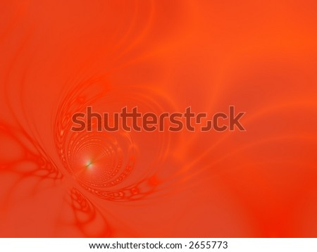 Fractal image of an abstract depiction of Armageddon. - stock photo