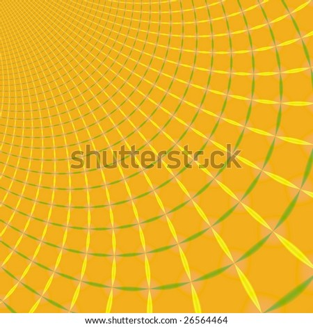 fractal rendition of abstract colored background