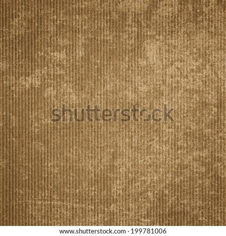 Fragment of Cardboard - stock photo