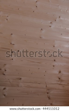 fragment of wooden house as background - stock photo