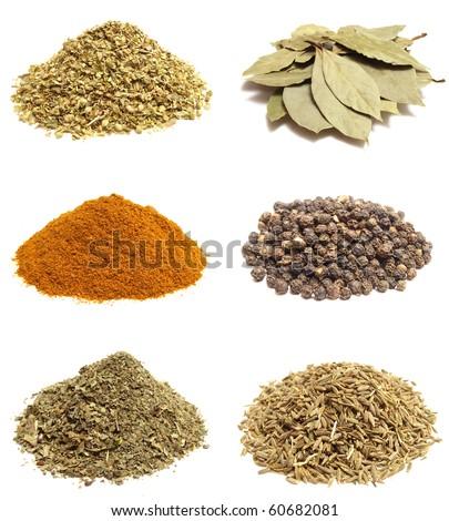 Fragrant spices - stock photo