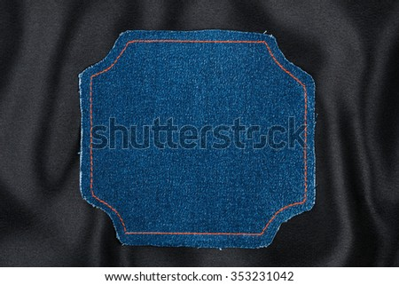 Jeans pocket vector eps 10 stock vector 127990280 for Space made of fabric