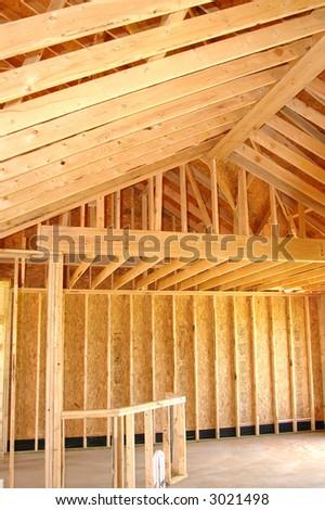 Framing Detail - stock photo