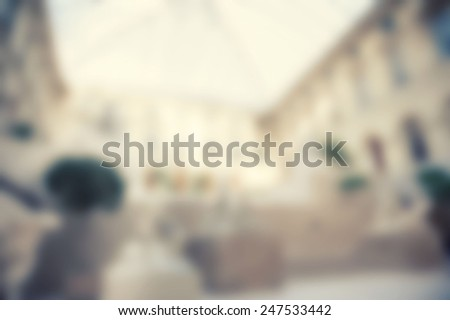 France background blure - stock photo