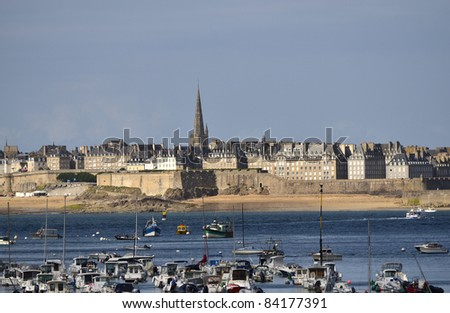 France, Brittany, St. Malo - stock photo