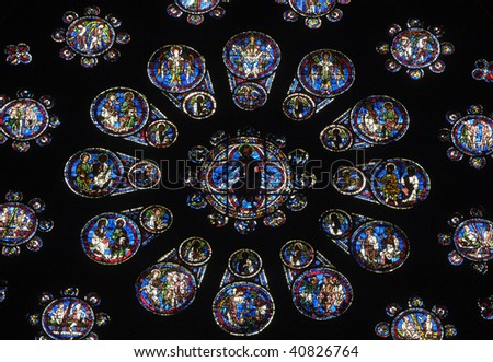 France, cathedral of Chartres