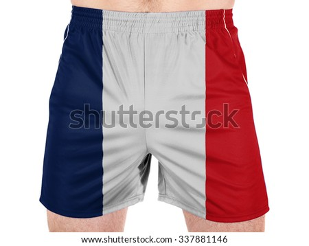 France. French flag  - stock photo