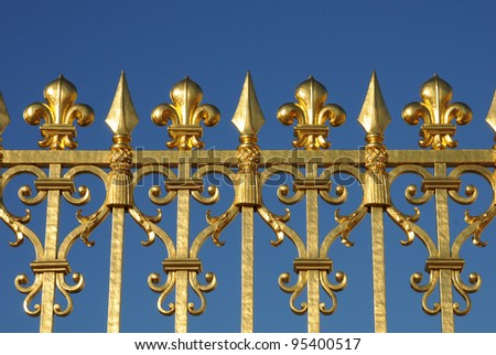 Golden Gates of Versailles Golden Gate of Versailles