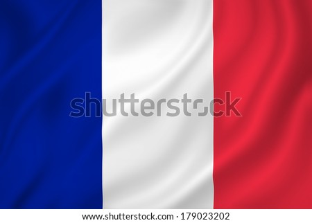 France national flag background texture. - stock photo