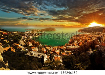 FRANCE RIVIERA  - stock photo