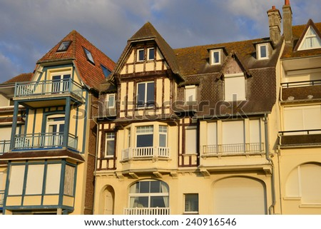 France, the picturesque city of Le Touquet in Nord Pas de Calais