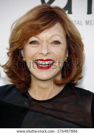 Frances Fisher at the 2014 Environmental Media Awards held at the Warner Bros. Studios Lot in Los Angeles on October 18, 2014 in Los Angeles, California.  - stock photo