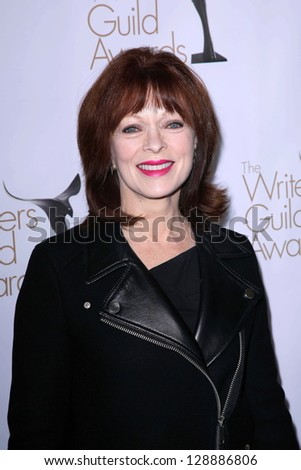 Frances Fisher at the 2013 Writers Guild Awards, JW Marriott, Los Angeles, CA 02-17-13