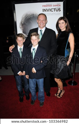 "Francois Pienaar at the ""Invictus"" Los Angeles Premiere, Academy of Motion Picture Arts and Sciences, Beverly Hills, CA.  12-03-09"