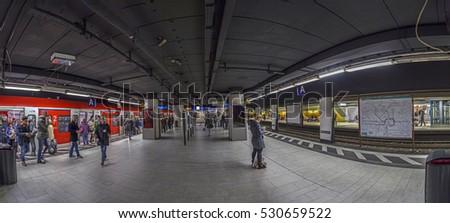 frankfurt train station stock images royalty free images vectors shutterstock. Black Bedroom Furniture Sets. Home Design Ideas