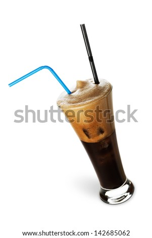 Frappe - stock photo