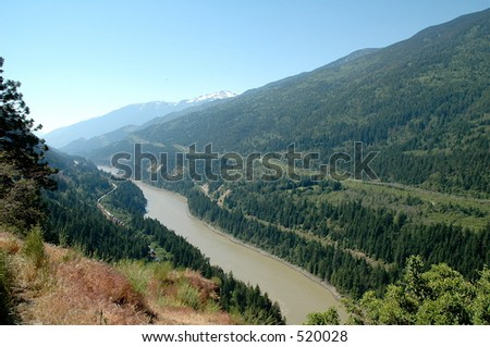 Fraser Valley - stock photo