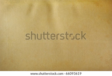 Frayed old paper with two line. - stock photo