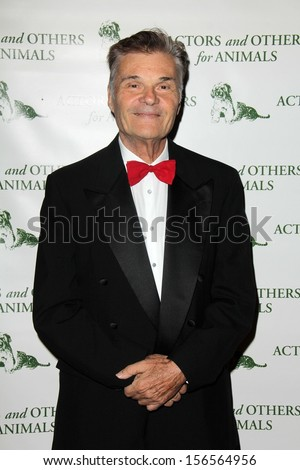"Fred Willard at Actors and Others for Animals Celebrates ""Best In Show"" Pets, Universal Hilton Hotel, Universal City, CA 09-28-13 - stock photo"