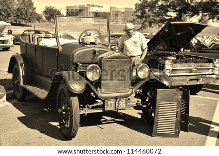Ford t touring stock photos royalty free images for Maryland motor vehicle administration