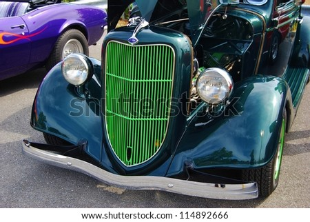 Green Ford Truck Stock Photos Images Pictures