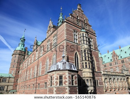 Frederiksborg castle, the largest Renaissance palace in Denmark and Scandinavia
