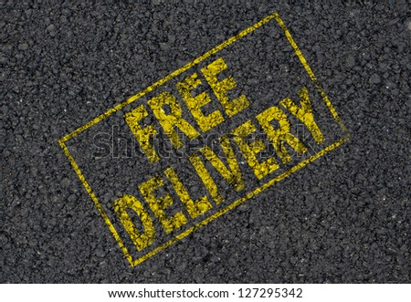 Free delivery background