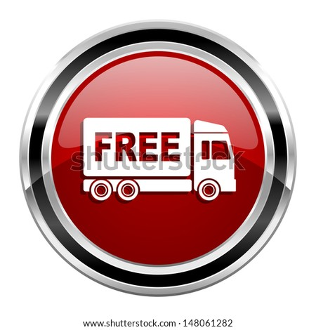 free delivery icon  - stock photo