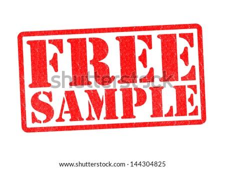 free sample rubber stamp over white stock illustration 144304825