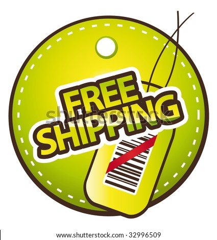 Free shipping green label