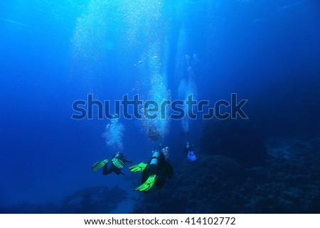 freediving scuba photo