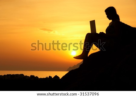 Freedom at work - stock photo