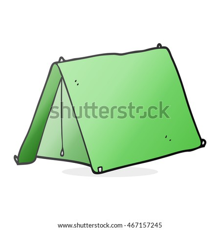 freehand drawn cartoon tent  sc 1 st  Shutterstock & Freehand Drawn Cartoon Tent Stock Illustration 467157245 ...