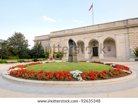 Freer and Sackler Galleries of Art - stock photo