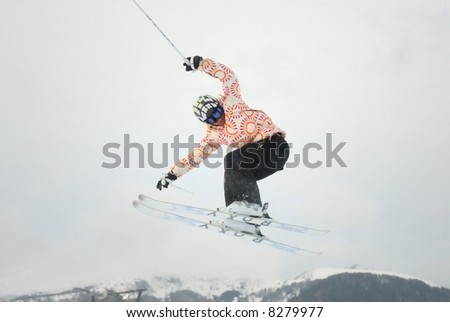 freeskier girl